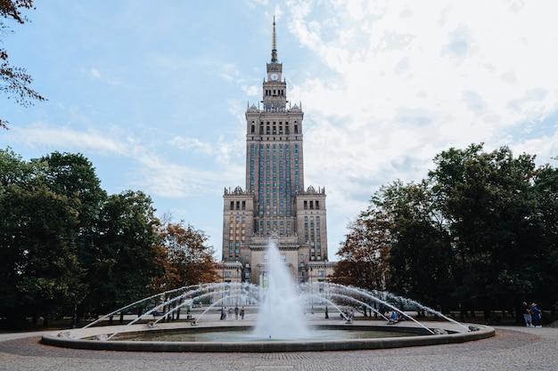 Palais de la culture et des sciences de varsovie