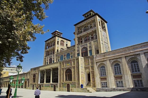 Palais du golestan à téhéran, iran