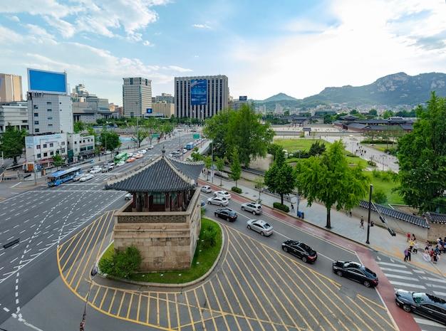 Palais gyeongbokgung à séoul corée du sud