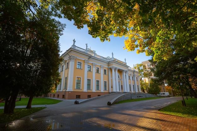 Palais homiel (biélorussie) le matin