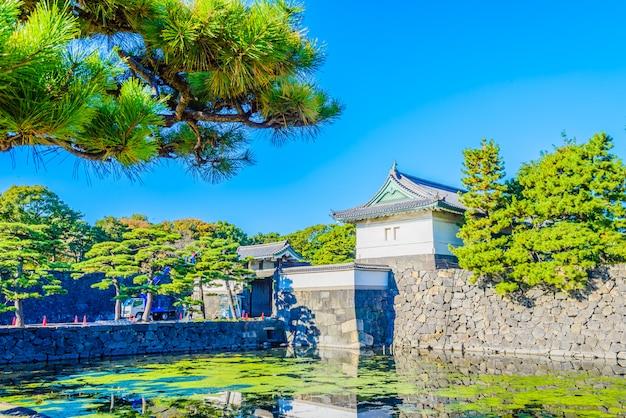 Palais impérial à tokyo au japon