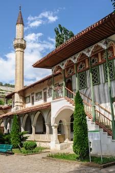 Palais de khan à bakhchisarai, crimée, ukraine