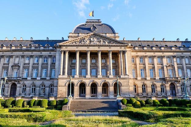 Palais royal de bruxelles en belgique