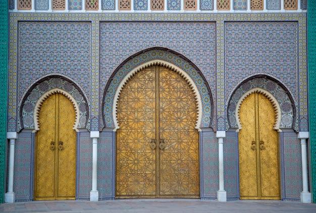 Palais royal à fès, maroc