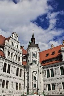 Palais royal, residenzschloss à dresde, saxe, allemagne