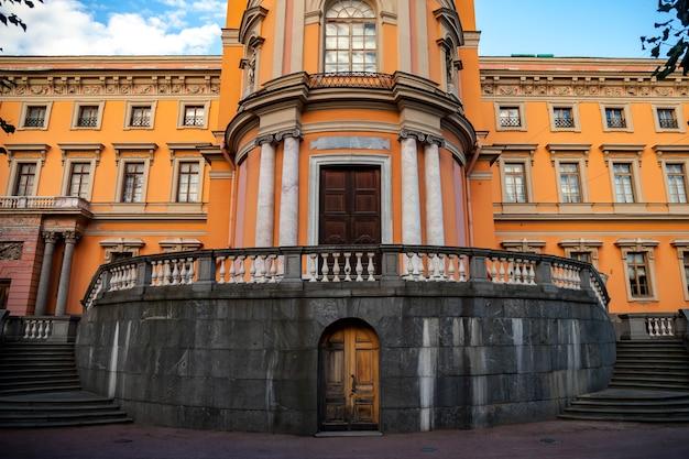 Palais saint michel, mikhailovsky ou château des ingénieurs