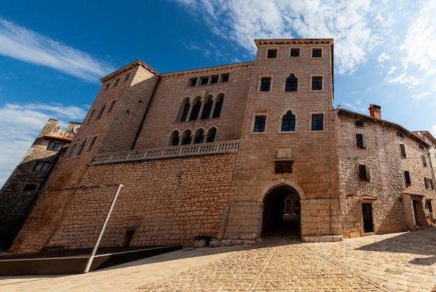 Le palais soardo bembo à valle, bale, istrie