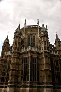 Palais de westminster, à londres, l'architecture