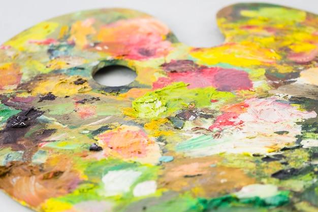 Palette sale coloré