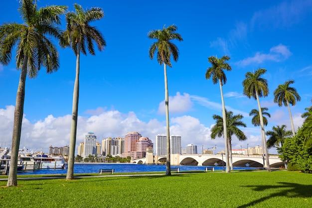 Palm beach skyline royal parc pont en floride