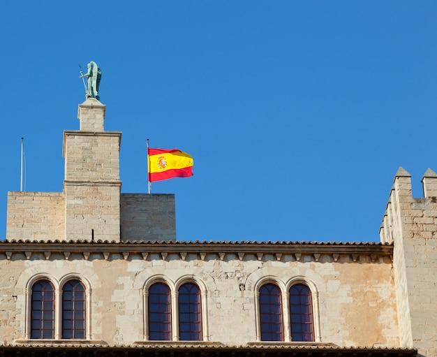 Palma de majorque, le palais royal de l'almudaina