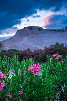 Pamukkale mountain en turquie