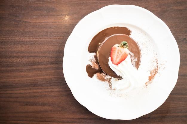 Pancake au chocolat