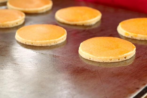 Pancake dorayaki au street food