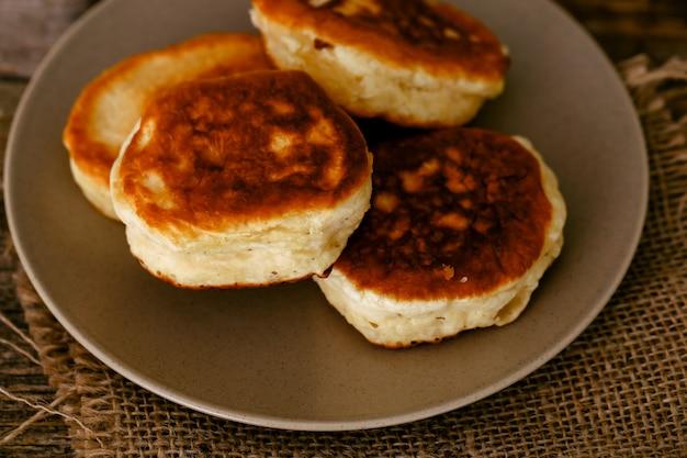 Pancakes faits maison