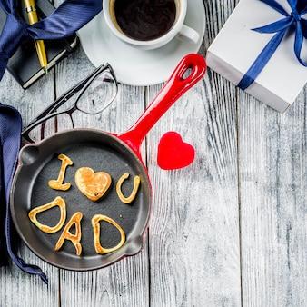 Pancakes fête des pères