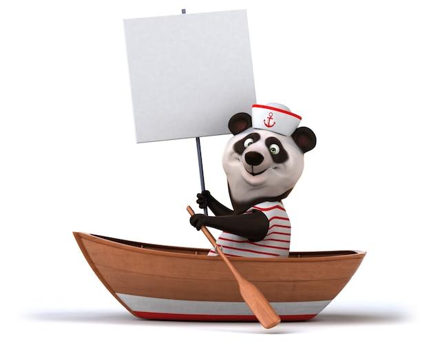 Panda amusant