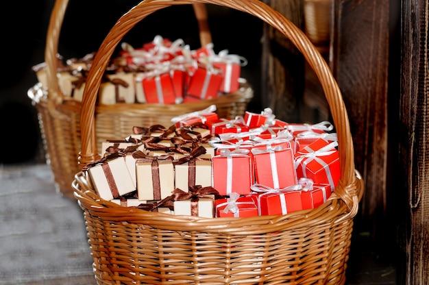 Panier et coffret cadeau