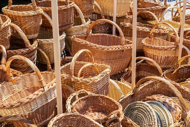 Paniers en bois