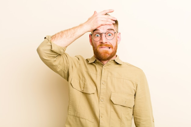 Paniquer à cause d'un délai oublié, se sentir stressé, devoir couvrir un gâchis ou une erreur