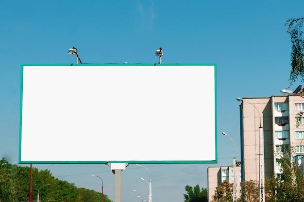 Panneau d'affichage, panneau d'affichage, panneau d'affichage en toile, ville