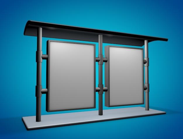 Panneau d'affichage simulacre nouveau