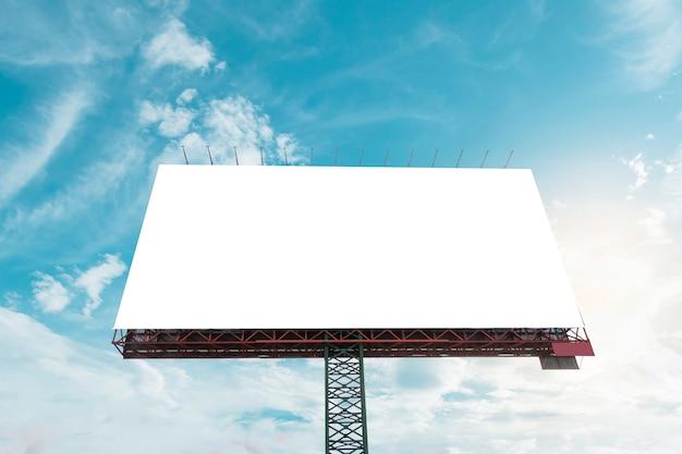 Panneau d'affichage vide