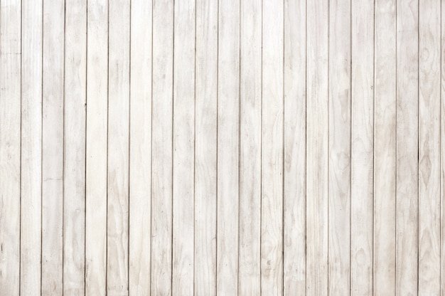 Panneau en bois blanc, fond de texture de planche de bois, plancher de bois franc.