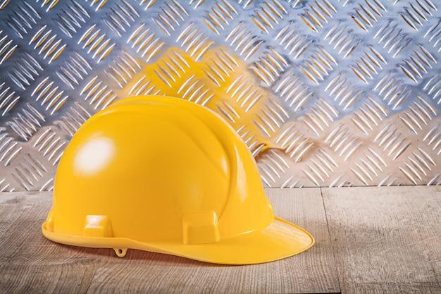 Panneau de bois de protection de construction de casque en tôle rainurée