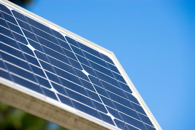 Panneau de cellules solaires, énergie verte écologique