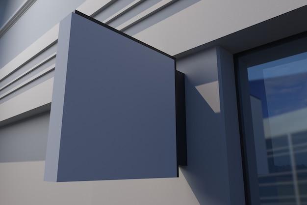 Panneau de façade carré pour panneau mural