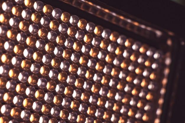 Panneau led avec diodes électroluminescentes