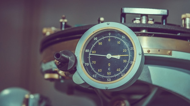 Panneau de mesure de pression