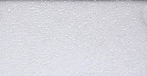 Panneau de mousse de polystyrène blanc, fond de texture polystyrène de haute qualité