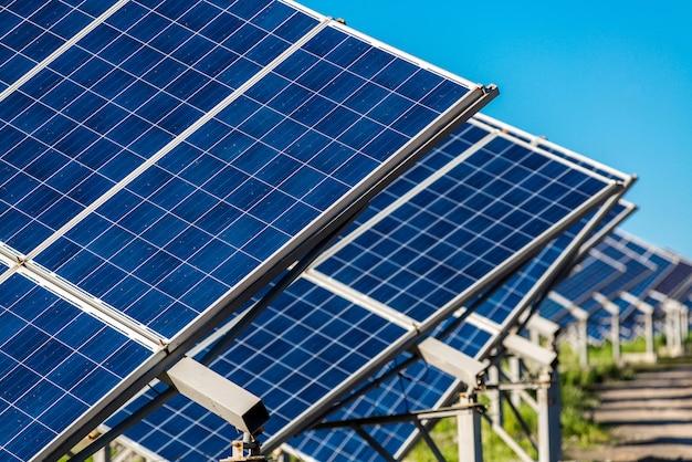 Panneau solaire énergie du soleil