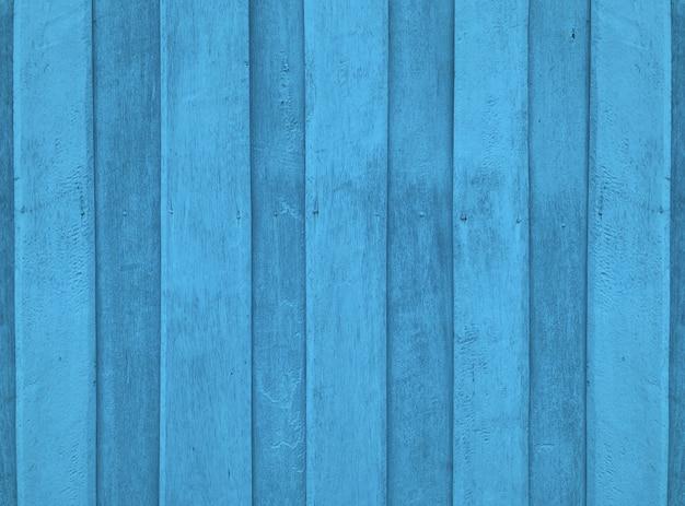 Panneaux de bois bleu naturel texture fond de mur de clôture.