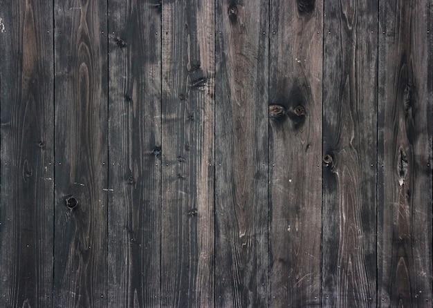 Panneaux de bois foncé âgés fond de mur pour la texture du design vintage.