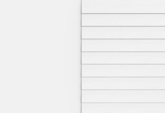 Panneaux de bois gris mur sur fond d'espace de copie blanc.