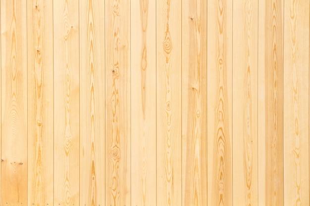 Panneaux en bois en gros plan