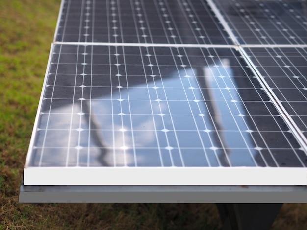 Panneaux d'énergie solaire eco power industriel pour les énergies renouvelables
