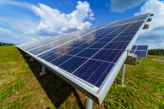 Panneaux d'énergie solaire