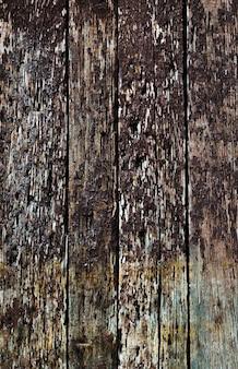 Panneaux horizontaux en bois rustiques