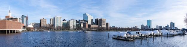 Panorama du centre-ville de boston