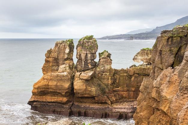 Panorama du parc national de paparoa ile sud nouvelle zelande