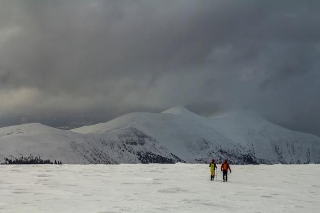 Panorama d'hiver.