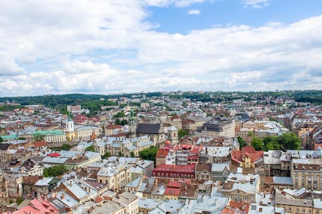 Panorama de lviv.