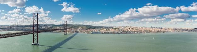 Panorama pont de lisbonne