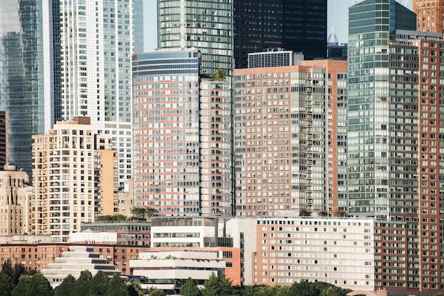 Panorama de la ville de new york