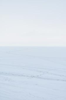 Panorama de la volga en hiver