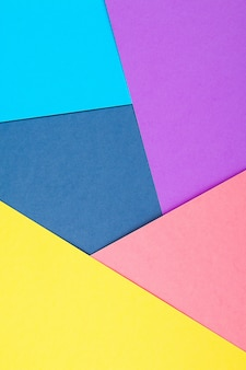 Le papier abstrait est un design coloré et créatif pour un papier peint pastel.